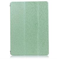 Зеленый чехол книжка обложка для iPad Air 2 - Silk Pattern Smart Cover & Crystal Back Case Green