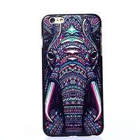 "Пластиковый чехол накладка для iPhone 6 Plus / 6s Plus (5.5"") с рисунком слон"