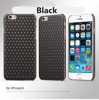 Чехол накладка супертонкая черные звезды для iPhone 6 / 6s USAMS