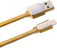 Кабель Lighting - USB для iPhone 6s / 6 / 5s / 5c / 5  iPad mini / iPad air - REMAX GOLD