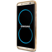 Золотой металлический бампер для Samsung Galaxy Note 8