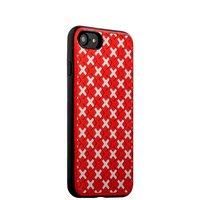 Чехол силиконовый COTEetCI College Case для iPhone 7 (4.7) Розово-белый