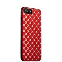 Чехол силиконовый COTEetCI College Case для iPhone 7 Plus (5.5) Розово-белый