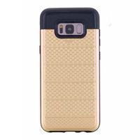 Золотой защитный противоударный чехол с отделением для карт для Samsung Galaxy S8 Plus