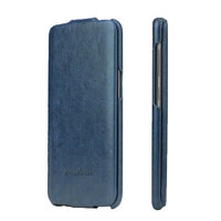 Синий кожаный чехол флип Fashion Case для Samsung Galaxy Note 8