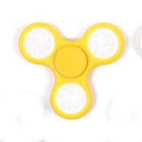 Желтый светящийся Спиннер LED Round Spinner Yellow