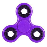 Фиолетовый пластиковый Спиннер Plastic Spinner Purple