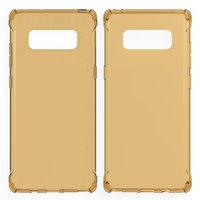 Золотистый прозрачный силиконовый чехол для Samsung Galaxy Note 8