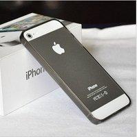 Силиконовый бампер Ultra Thin 0.2mm для iPhone 5 / 5s / SE серый